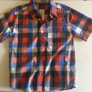 Oshkosh button down shirt (size 5)